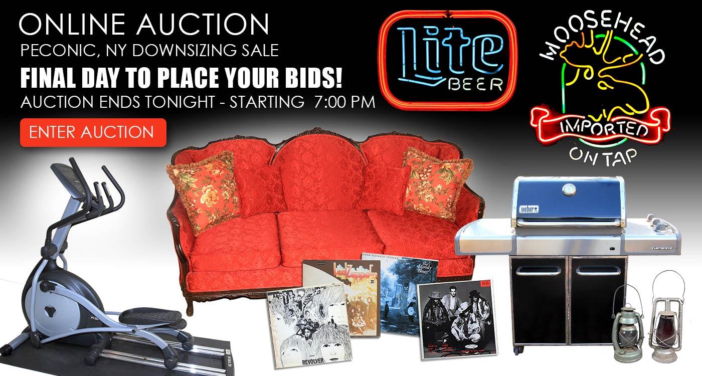 Blue Point NY Estate Sale Auction